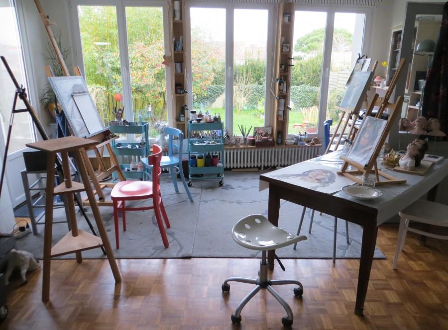 Corinne Pleindoux Artiste peintre La Rochelle - Site officiel
